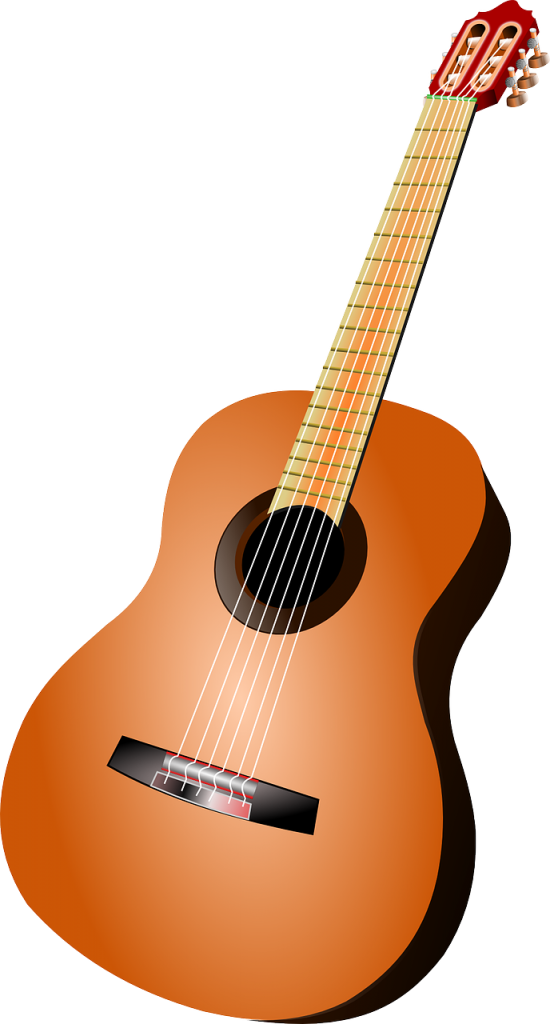 guitar, music, musical instrument